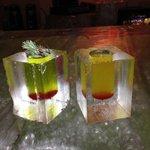 drinks - snowmobile accident & arora borealis