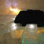 crazy ice bed!