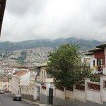 The view from the hostel door