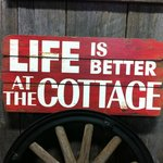 If you are lucky enough to have a cottage, I'm sure you'll agree!