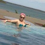 В бассейне отеля;)