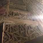 Ossadas nas catacumbas subterrâneas
