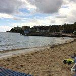 Beach-back facing Bolongo