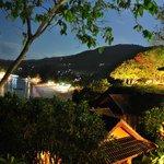 vista nocturna de haad yao