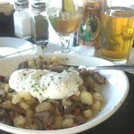 Prime Rib Hash from Sunday brunch