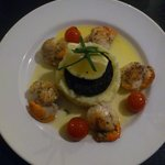 Scallops and Black Pudding