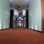 Happy jump in Sheraton floor!!!
