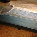Stains on mattress