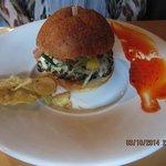 Chorizo burger