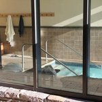 indoor heated pool access