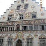 Edificio storico del centro di Lindau