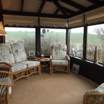 Glen Auchie Cottage spacious Conservatory.