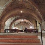 La crypte, une véritable église sous terraine
