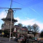 Moinho em Amsterdam