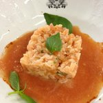 tartar from salmon