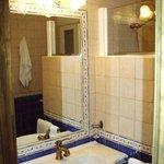 Baño casa Alcornoque.
