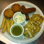 Cuban Sampler Appetizer