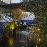 Beautiful roof terrace