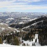 View from Park City Utah resort