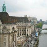 Riverwalk/hotel from Eye