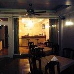 Alaya Inn lobby area