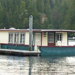 View of houseboat