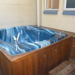 had our own jacuzzi in the courtyard