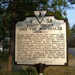 Piney Grove at Southall's Plantation - Historic Marker