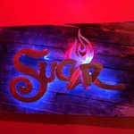 Sugar's sign gives you an idea of the atmosphere to expect