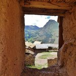 Through an ancient window