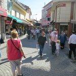 Strolling Through The Kizlaragasi Han Bazaar