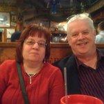 Happy Us Ann and John