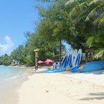 Muri beach/lagoon