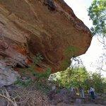 mushroom rock art site