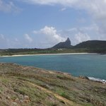 vista da Praia do Sueste desde o mirante