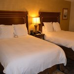 Love the all white linens and SUPER comfortable beds!!