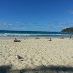 Beach on Hastings Street
