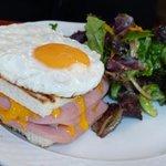 Cafe Alibi - Croque Madame