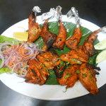 Signature Dish :Tandoori Kadai (Quail)