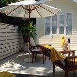 Premium deluxe pool villa 424 terasse