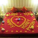 Honeymoon Special Flower Decoration