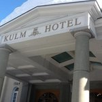 Front of Kulm Hotel, St Moritz, Switzerland
