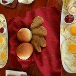 fried eggs for breaky