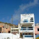 Aftas beach house, from the beach