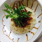 Risotto with crispy duck
