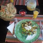 Scrumptuous gourmet breakfast
