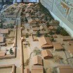 町並み復元模型