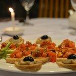 Taste our delicious bruschette...