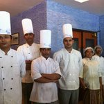 The team from the kitchen