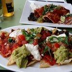Fajita + enchilada. Delicious